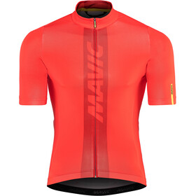 Mavic Cosmic Jersey Herr fiery red